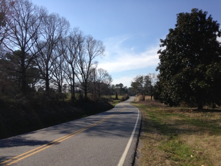 This is the road leading to one of the abandoned subdivisions. Many of the roads in Cumming are two lanes, and narrow, with lots of twists and turns. They hardly seem capable of handling the potentially dramatic increase in traffic.